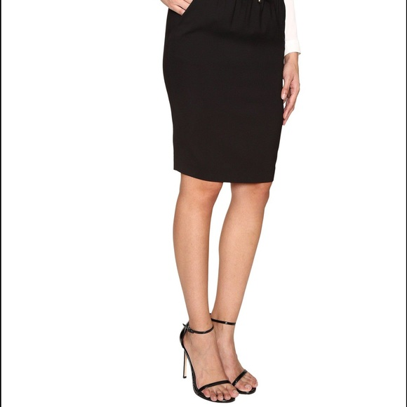 Chanel Skirts Black Wool Mini Pencil Skirt Xs Authentic Poshmark